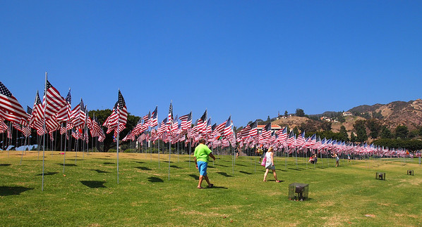 2012 Flags at Pepperdine