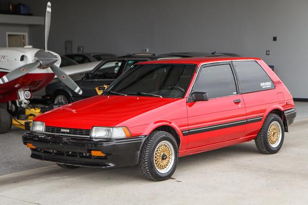 1987 Toyota Corolla FX16 w/ Lift Shots