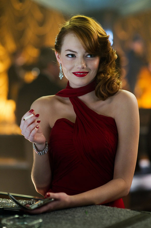 ". This film image released by Warner Bros. Pictures shows Emma Stone, as Grace Faraday in ""Gangster Squad.\"" (AP Photo/Warner Bros. Pictures, Wilson Webb)"