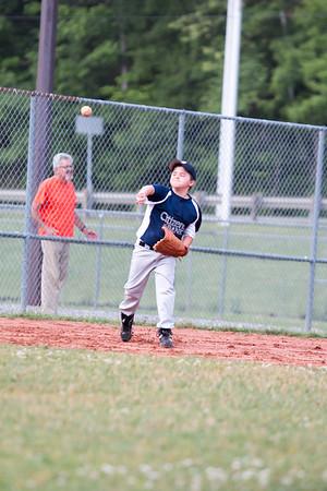CCALL Baseball Citizen's Bank vs Churchill Plumbing 060215
