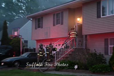House Fire - Floyd Rd, Shirley, NY - 5/23/2021