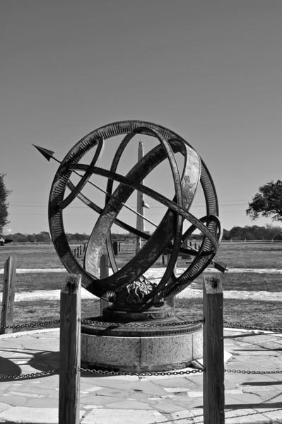 San Jacinto Monument and USS Texas