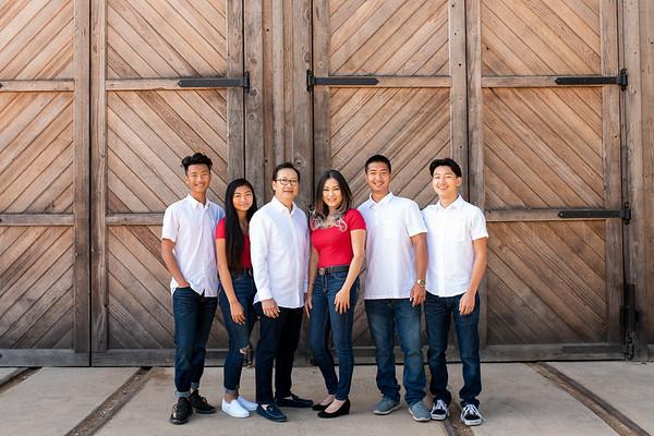 Tran-Wong Family