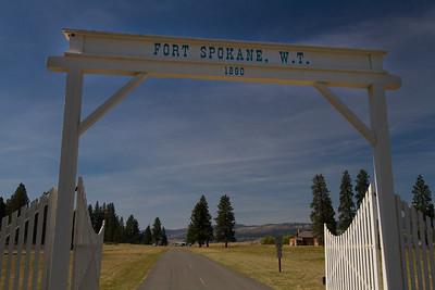 Fort Spokane--where the Columbia and Spokane rivers meet