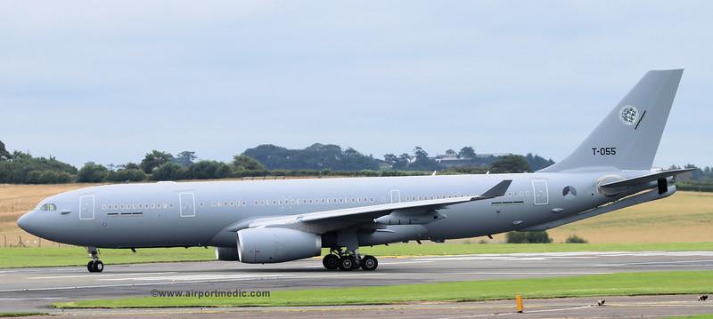 T-055 A330 Netherlands Air Force @ Prestwick Airport (EGPK)
