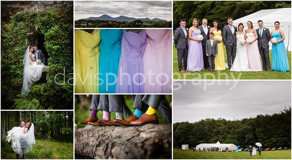 Forest Wedding - Amy + Carl
