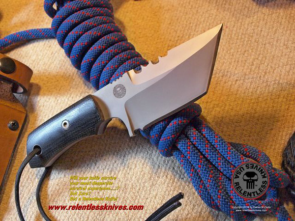 Relentless Knives M3 Medic Compact Military Survival knife