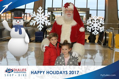 Dulles Shopping & Dining: Happy Holidays 2017 - Day 1