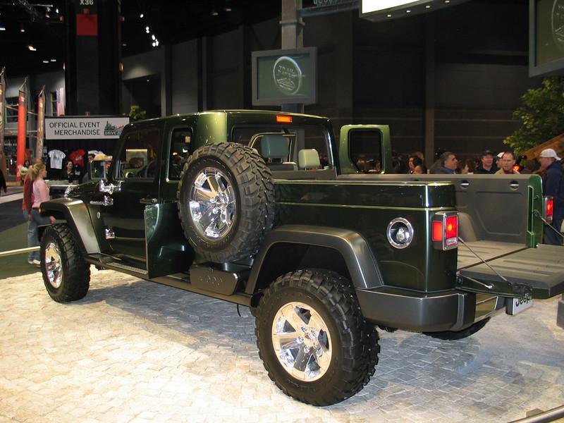 Concept Jeep Gladiator