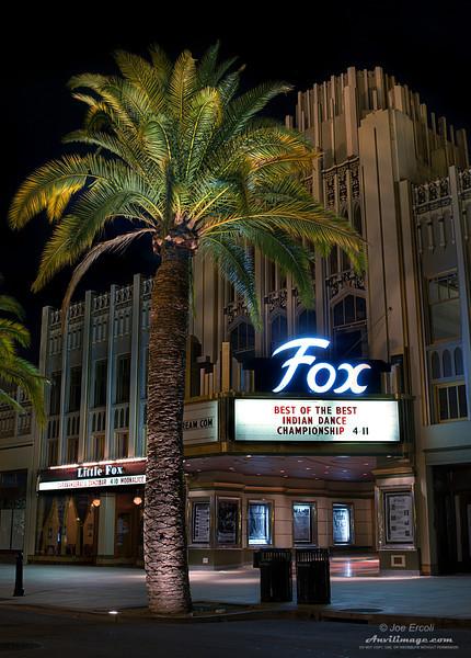 Fox Theatre Marque