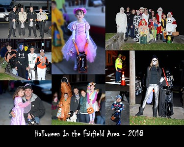 Halloween in Fairfield Area - 2018