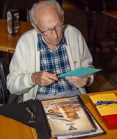 Hugh McEntire 98th Birthday Party