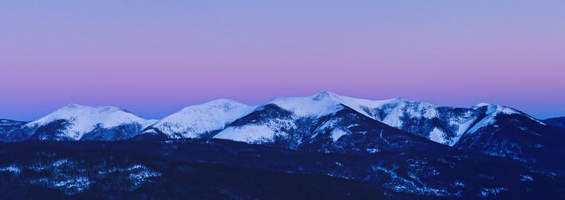 Mont Vallières-de-Saint-Réal en hiver