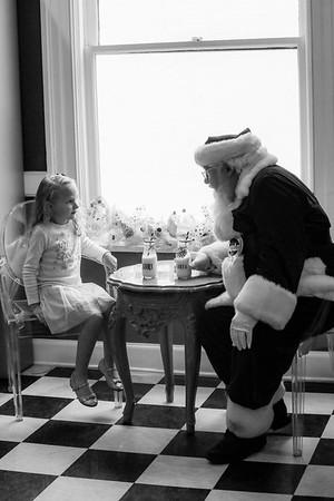 Story meets Santa at Sweet Pete's Candy Shop