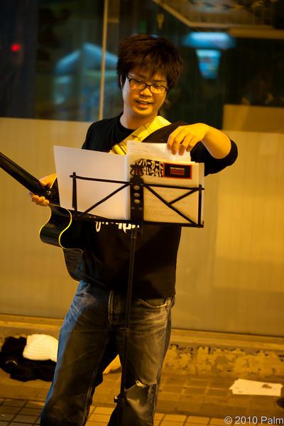 20101023 Sapporo Street Music