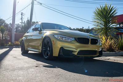 2015 BMW M3 Austin Yellow Metallic