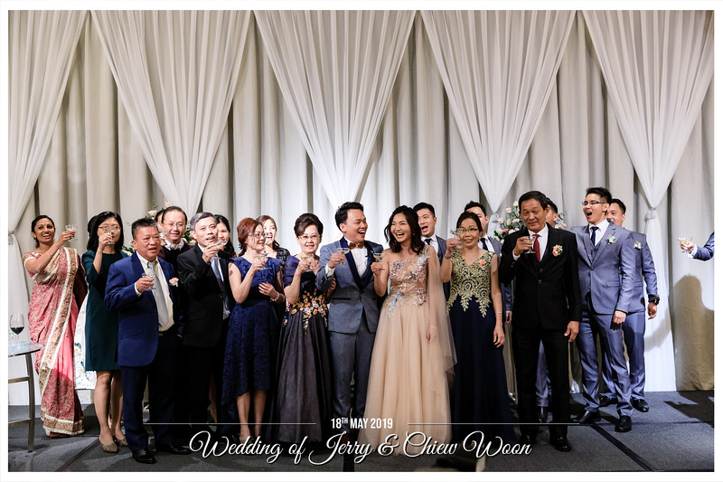 Wedding of Jerry & Chiew Woon | © www.SRSLYPhotobooth.sg