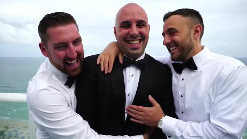 Trailer Wedding Video at The W