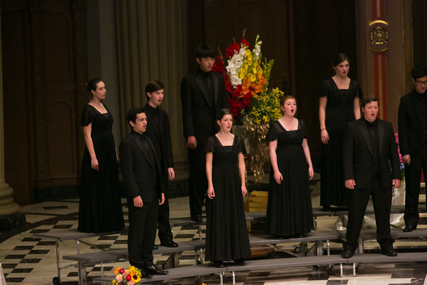 10.  J. Serra Catholic High School Chamber Singers