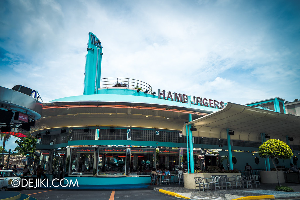 Universal Studios Singapore - Park Update May 2016 / Mel's Drive In