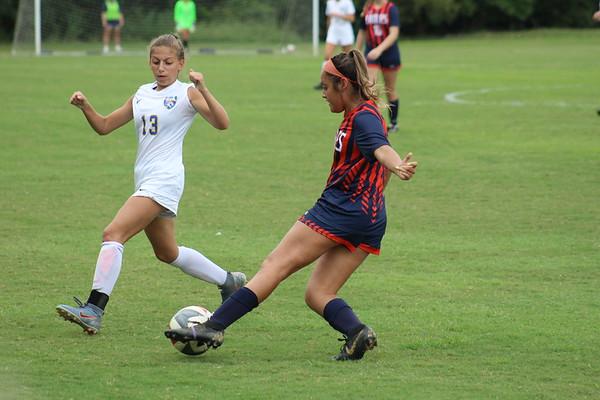 Lady Eagles Soccer vs DCA
