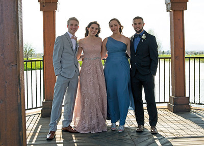 2019 Frederick Prom with Tanner & Jessica