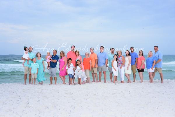 The Brookshire family  |  Panama City Beach