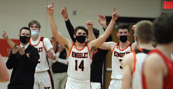 Basketball: Benzie Central at Kingsley, March 4, 2021
