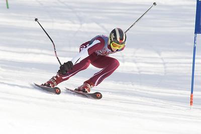 2/8/17: Skiing Giant Slalom Championship
