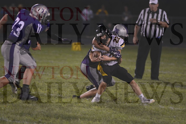 Baxter Football vs. Mormon Trail 8-23-19
