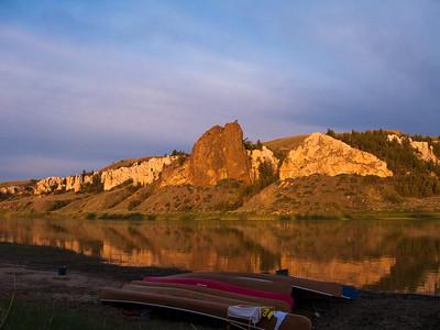 2008: Missouri River, Montana and Waterton Lakes, Canada