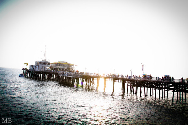 Adventure to Santa Monica Pier and Syrup with part of the team!