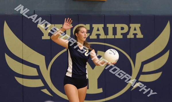 Yucaipa girls volleyball 2017
