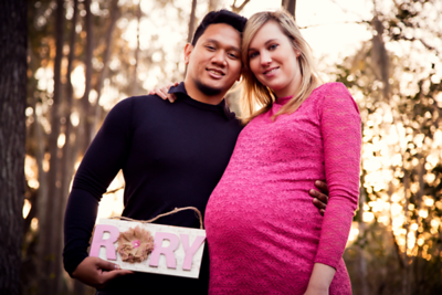 Lauren and Dietrich-Maternity