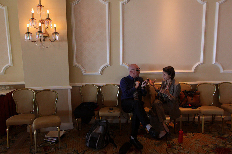Stephen Evans, Business Daily presenter, BBC World Service, interviews Sophie Vandebroek, CTO, Xerox, and President, Xerox Innovation Group