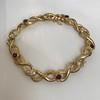 Vintage French Ruby & Diamond Serpent Bracelet 21