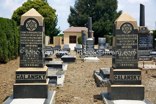 SOUTH AFRICA, Mpumalanga Province, Bethal. Jewish Cemetery (2.2016)