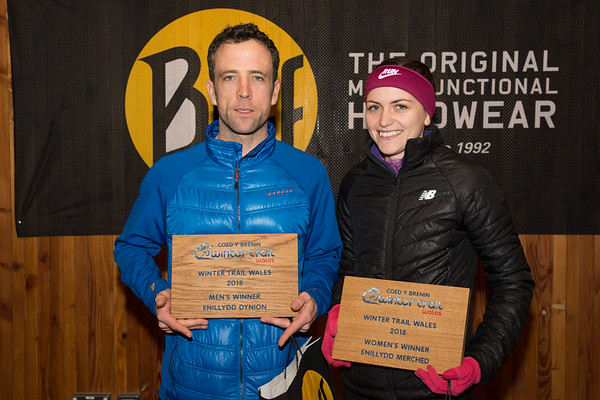 Buff Winter Trail Wales - Presentation Pictures