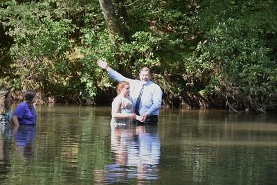Annalise Baptizing
