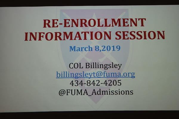 Reenrollment Information Session
