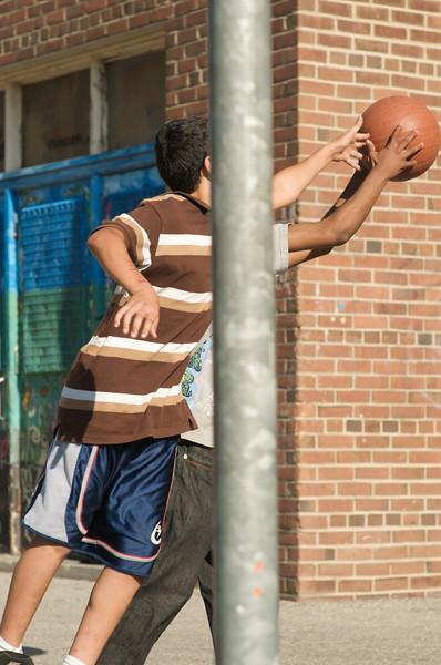 Creative Small Study: Hoops in the School Yard