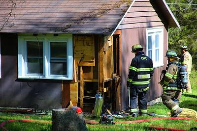 Structure Fire - Hewitt Rd, Clarksville, NY - 5/21/20