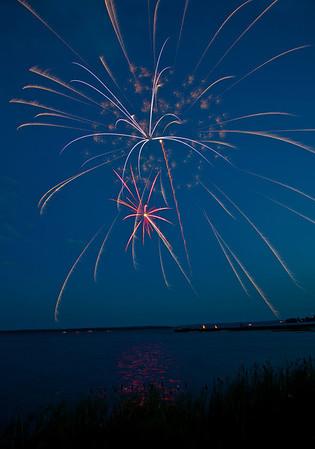 Wabamun Fireworks 2013