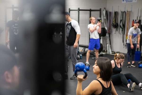 190366 SPHHP, Exercise Science, Class, Kimball Tower