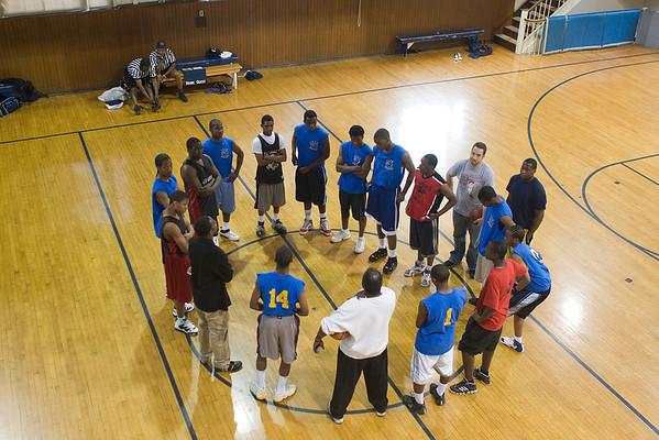 Disciples and Rebels Basketball Teams