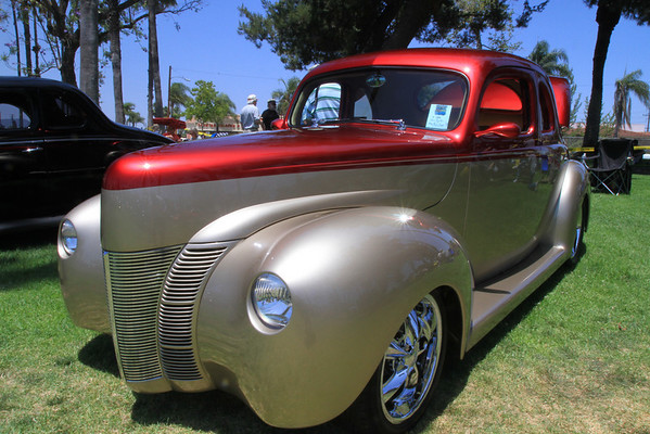 Forties Ford Car Show 2010