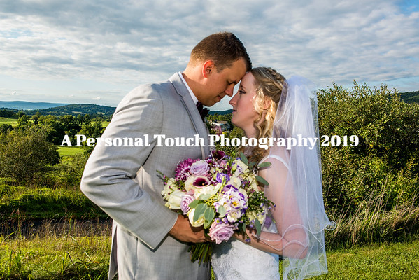 Tori and Yannick's wedding day