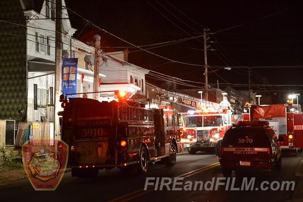 Schuylkill County - Palo Alto Borough - Dwelling Fire - 12/19/2011