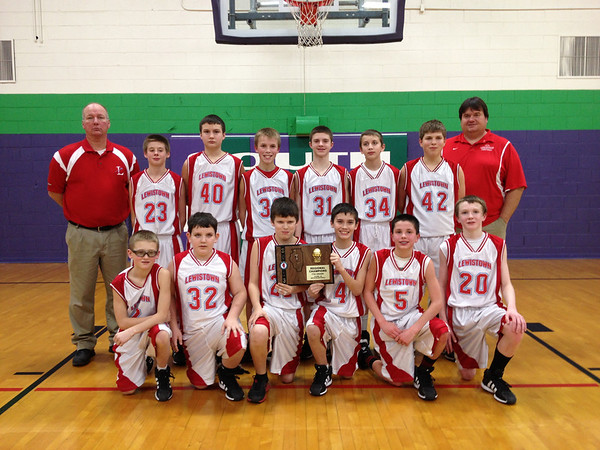 Lewiston 7th Grade Regional Win