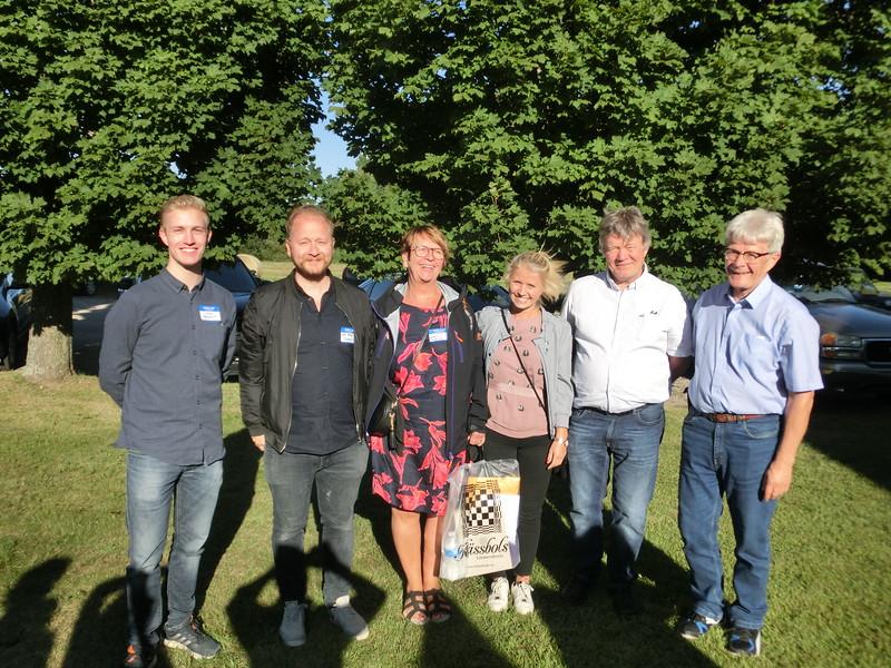 Swedish Bergqvists at the family reunion